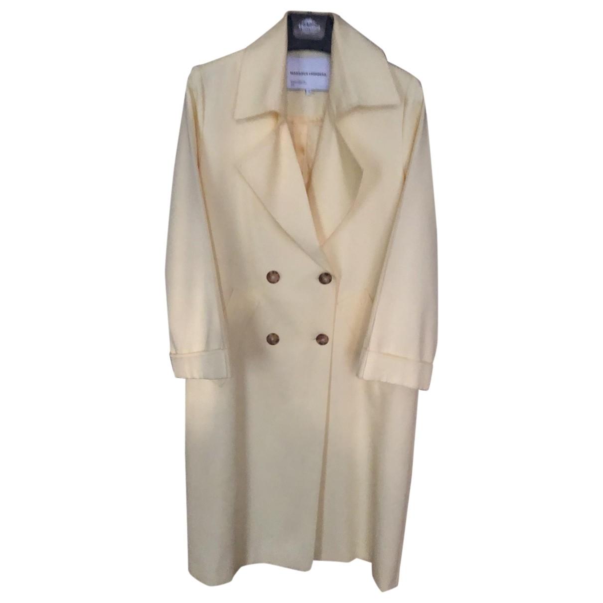 Margaux Lonnberg - Manteau   pour femme en coton - jaune