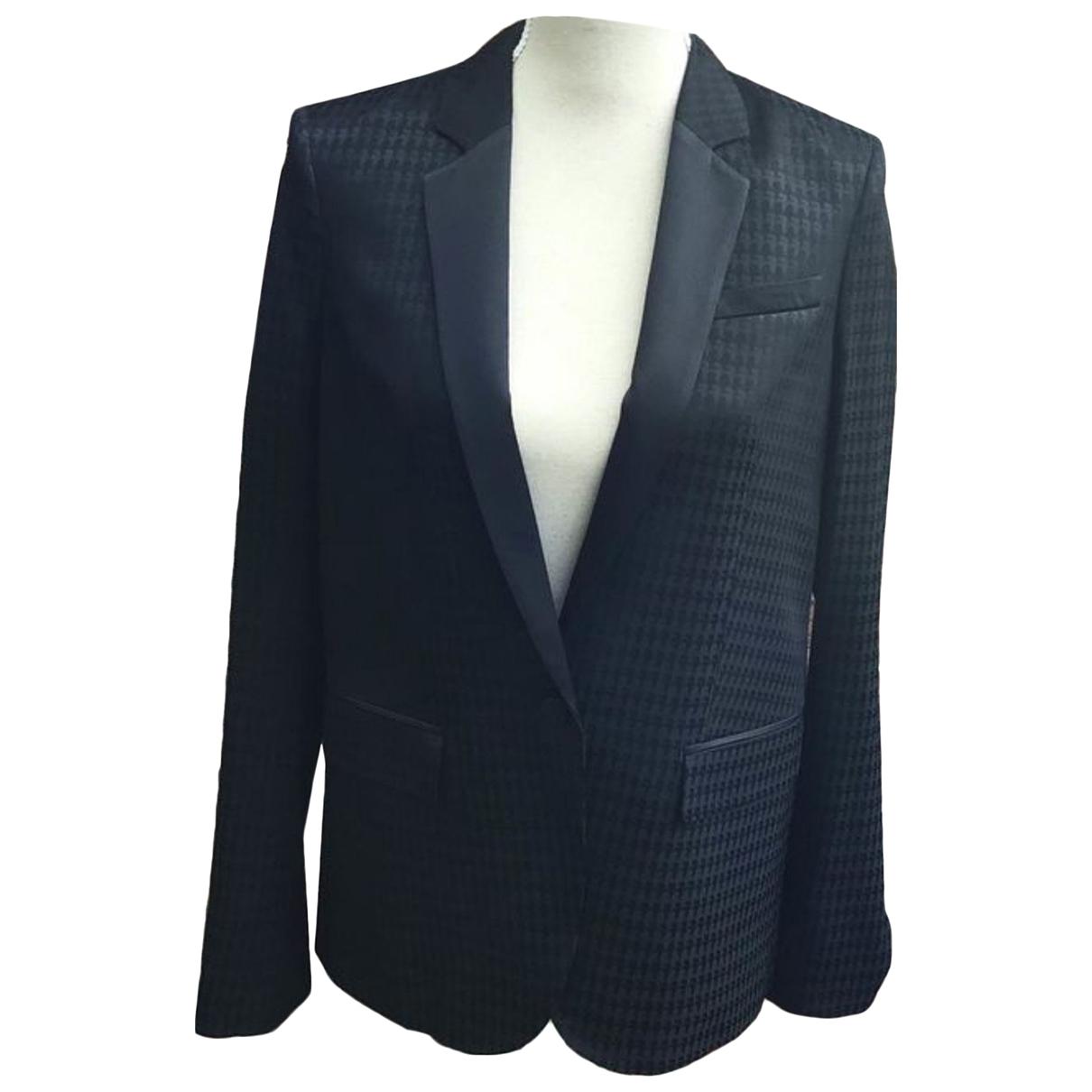 Karl Lagerfeld \N Jacke in  Schwarz Polyester