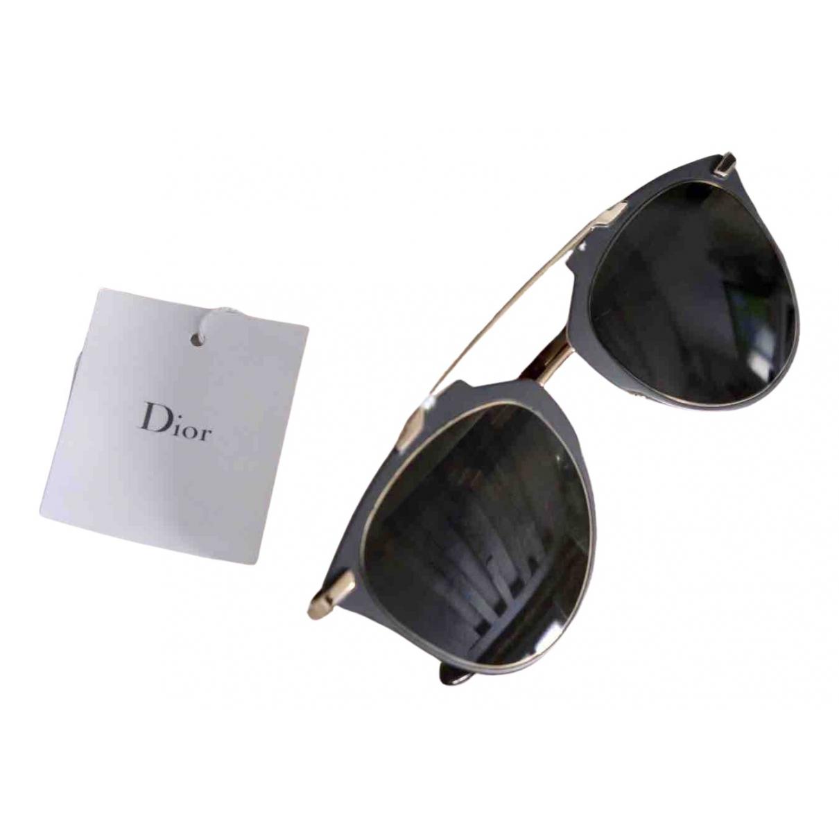 Dior - Lunettes Reflected pour femme en metal - gris
