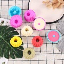 5 Stuecke zufaellige Farbe Spiralform