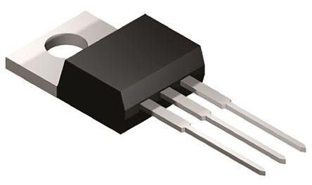 STMicroelectronics , TYN1012RG, Thyristor, 1000V 8A, 15mA 3-Pin, TO-220AB (5)