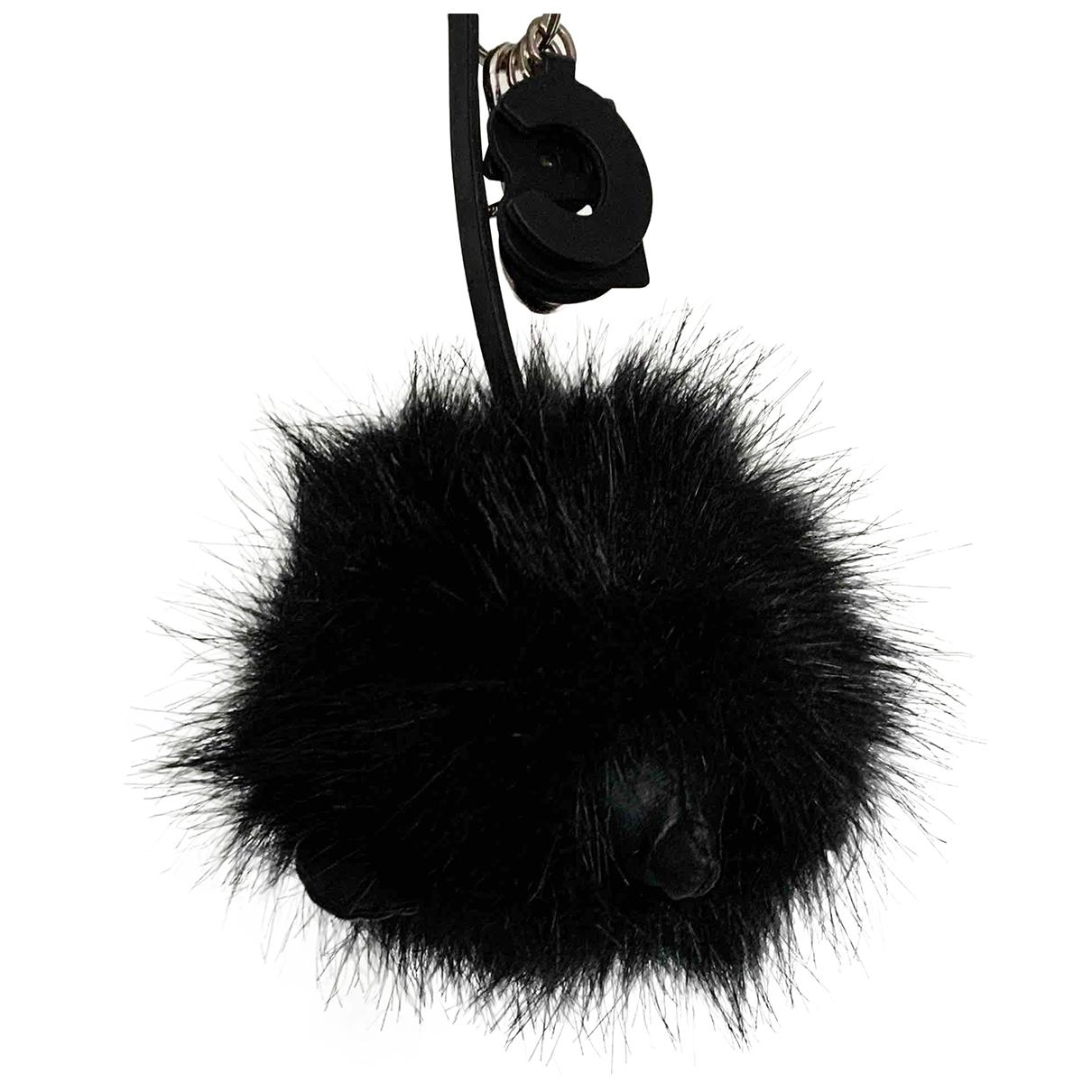See By Chloé \N Black Faux fur Bag charms for Women \N