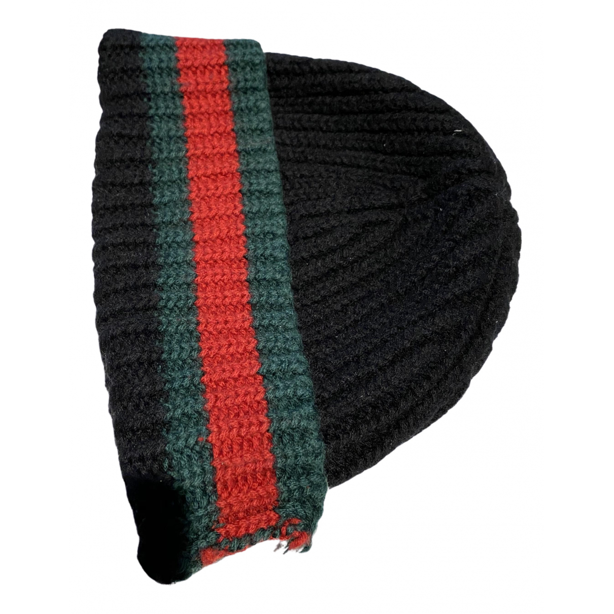 Gucci \N Black Wool hat & pull on hat for Men S International