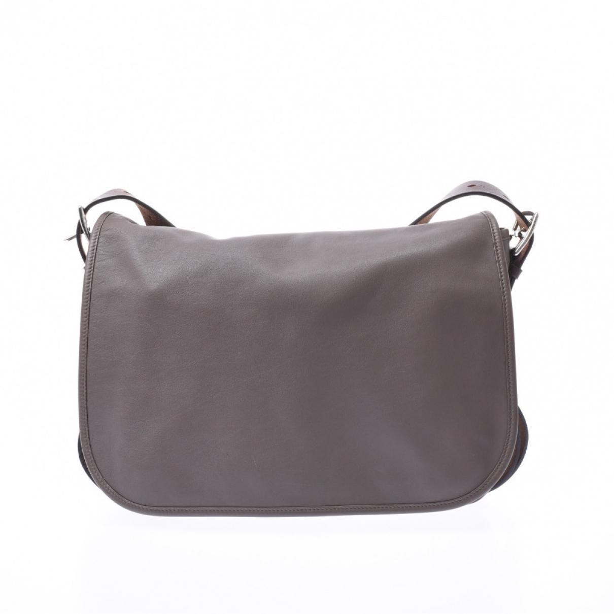 Hermès Barda Brown Leather handbag for Women \N