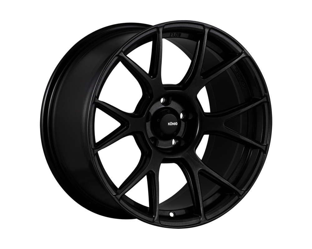Konig Ampliform Dark Metallic Graphite Wheel 18x8.5 5x108 43