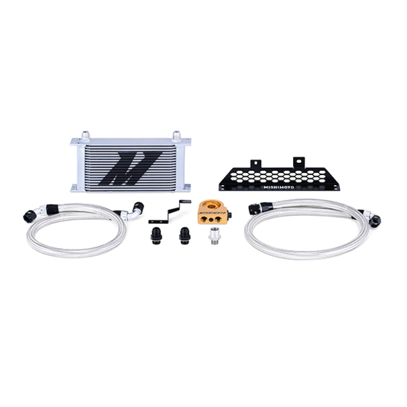 Mishimoto MMOC-FOST-13T Thermostatic Oil Cooler Kit (Silver) Ford Focus ST 2013+