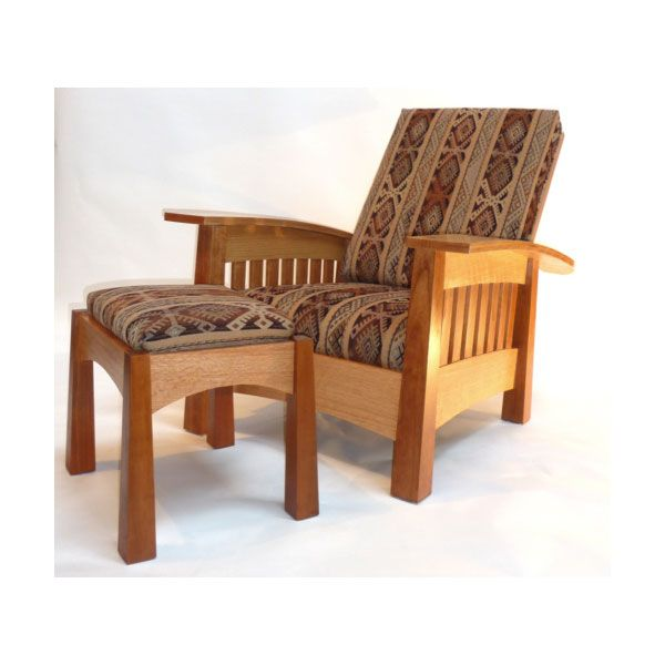 Woodworking Project Paper Plan to Build California West Arm Chair, AFD421