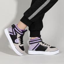 Sneakers mit Band vorne