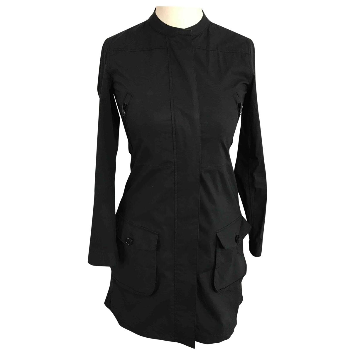 Aspesi - Trench   pour femme en coton - noir