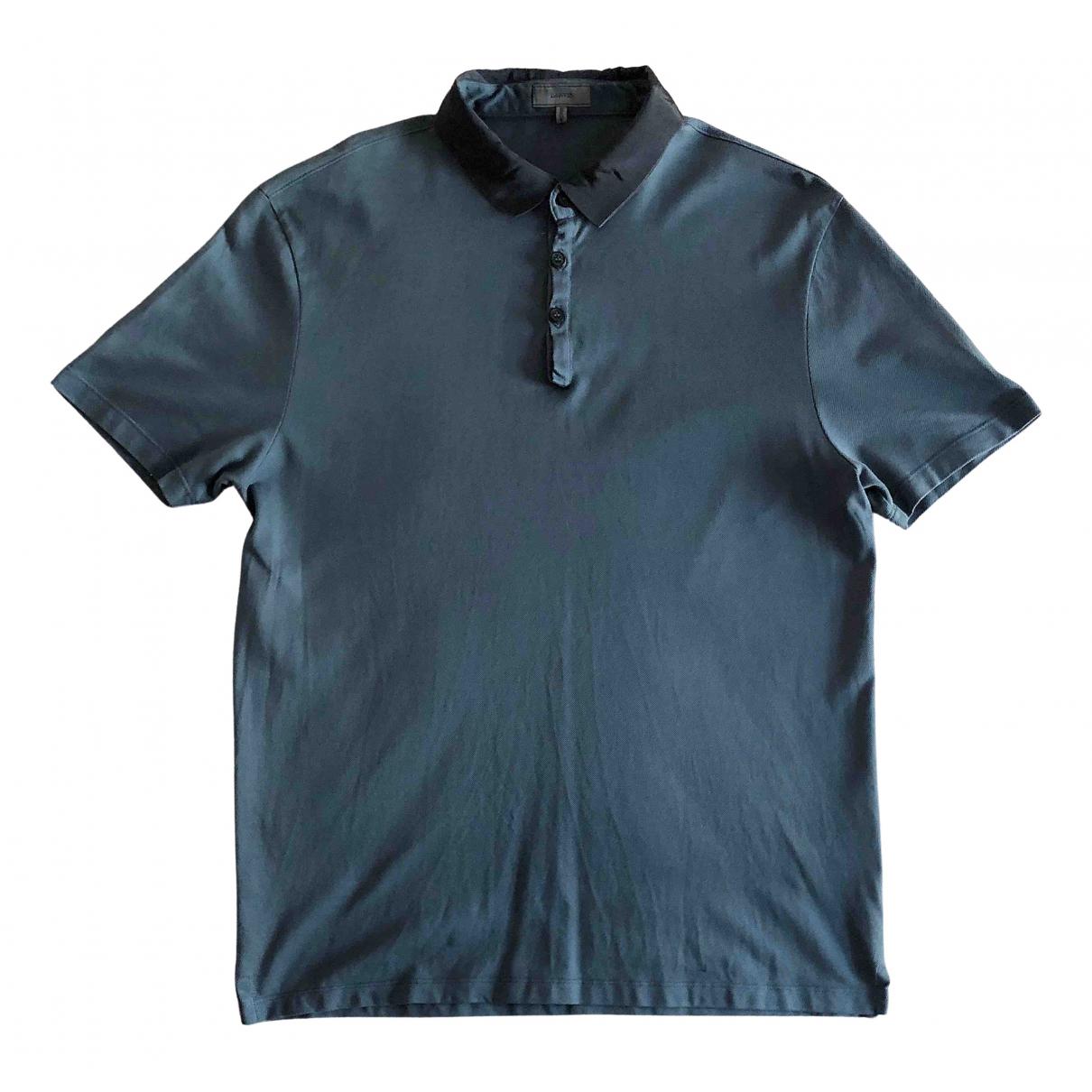 Lanvin \N Poloshirts in  Blau Baumwolle