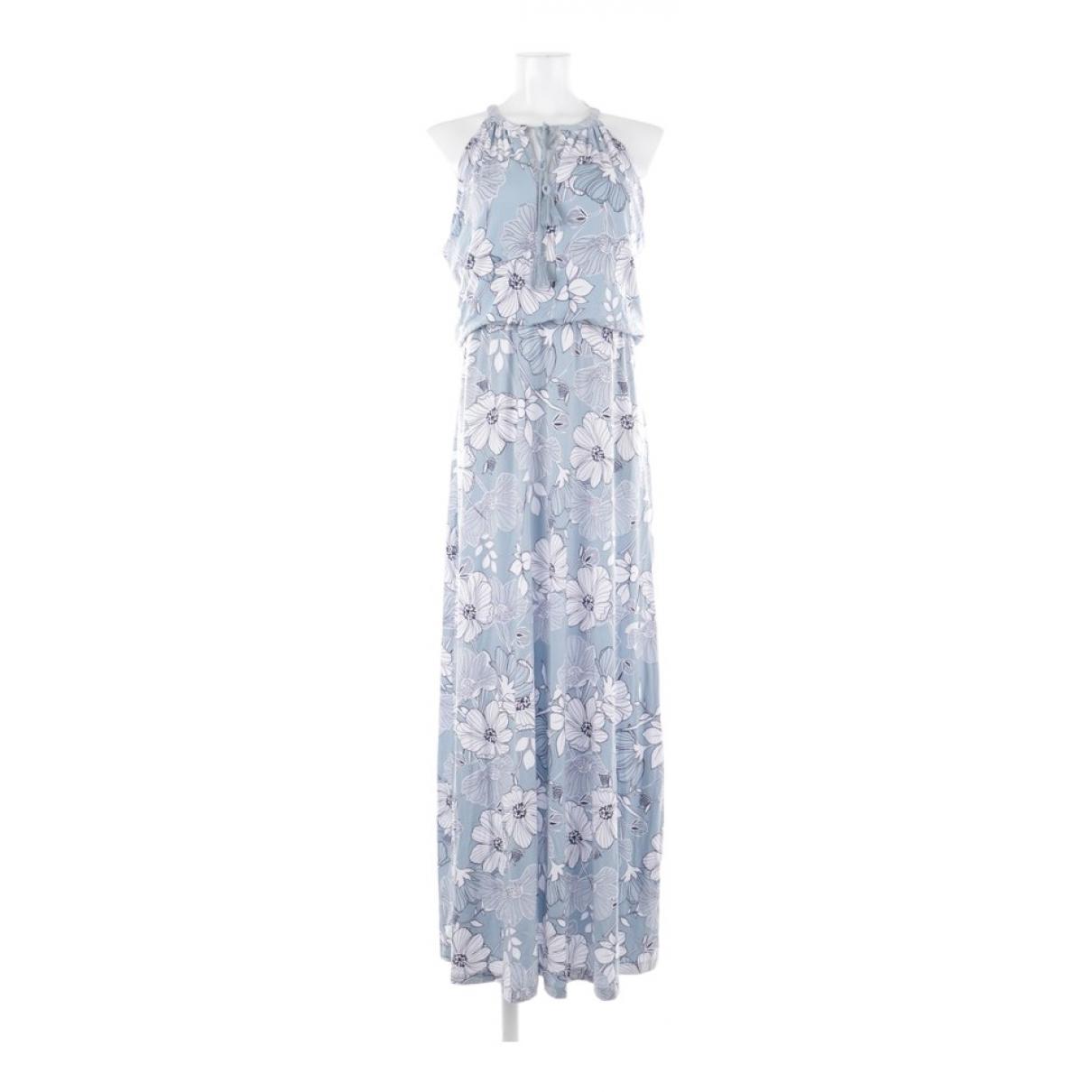 Rachel Zoe \N Kleid in  Blau Viskose