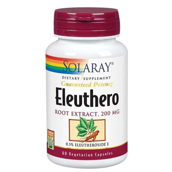 Eleuthero Root Extract 60 Caps by Solaray