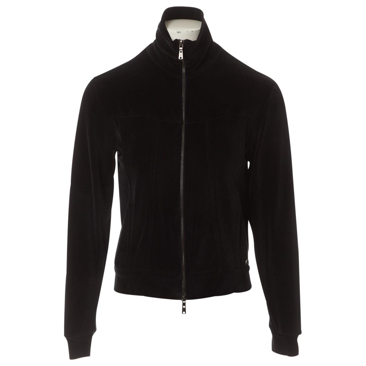 Yves Saint Laurent - Pull   pour femme en coton - noir