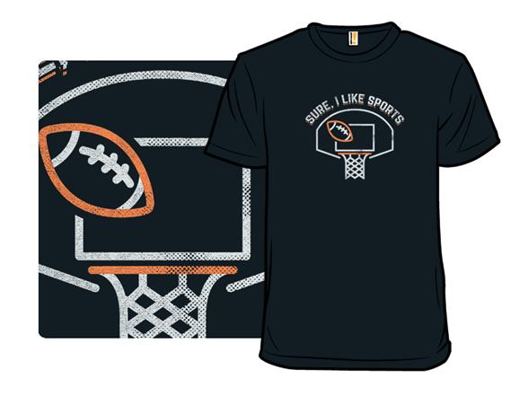 I Like Sports T Shirt