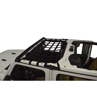 DirtyDog 4x4 Front Seat Netting (Black) - JL4N18F1BK