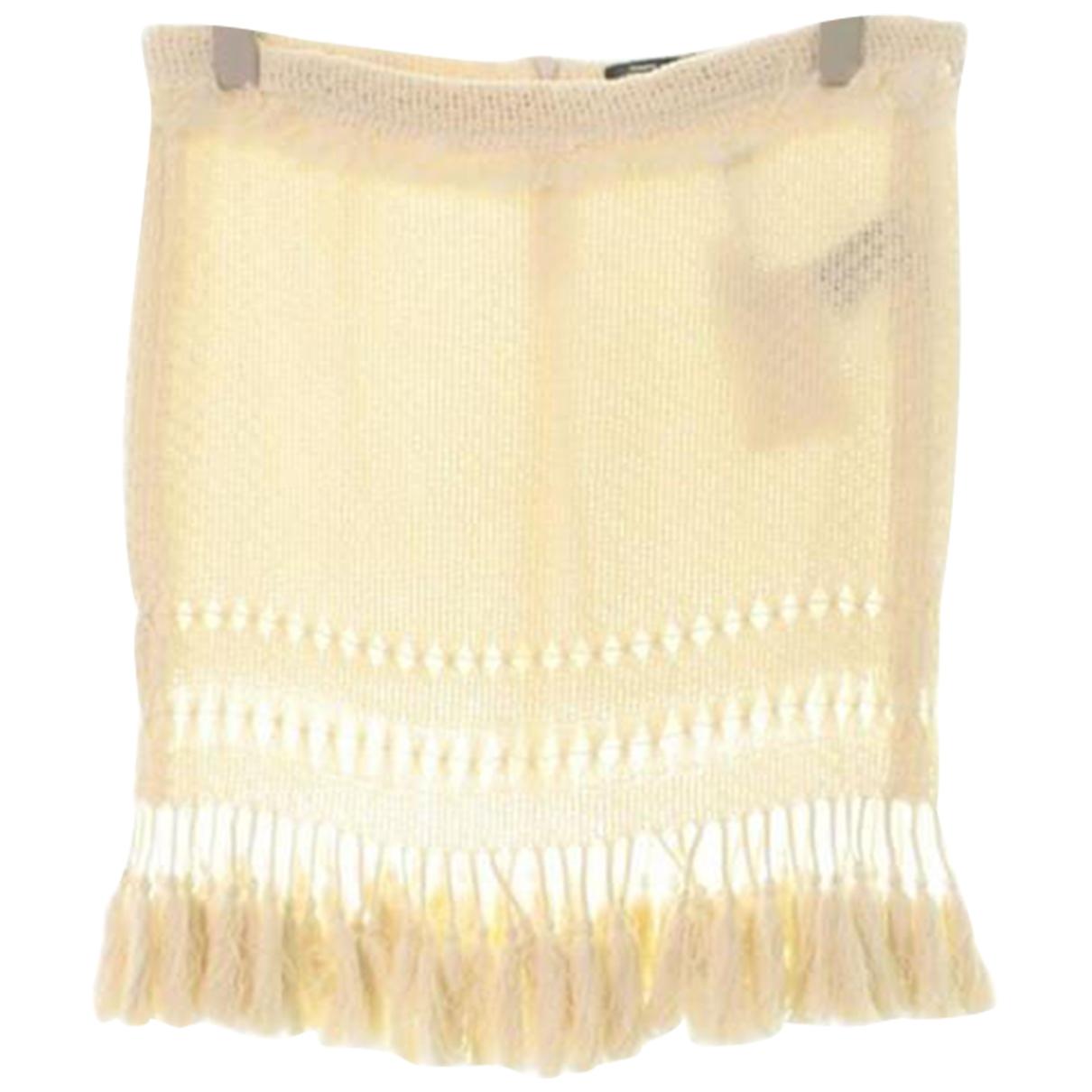Isabel Marant - Jupe   pour femme en coton - beige