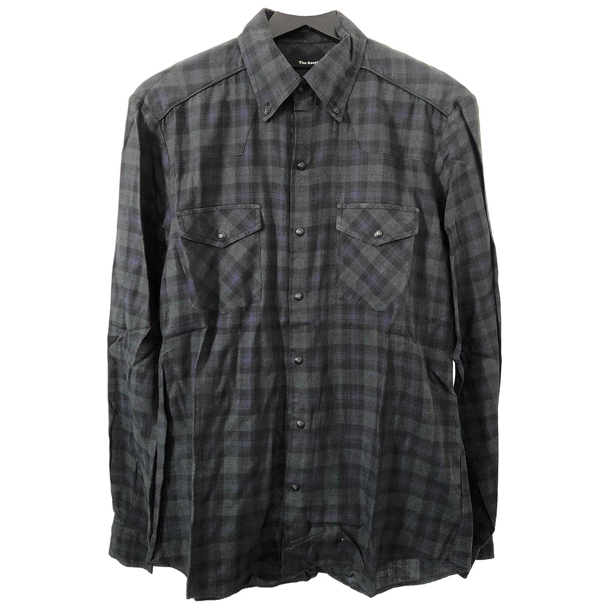 The Kooples \N Blue Cotton Shirts for Men S International