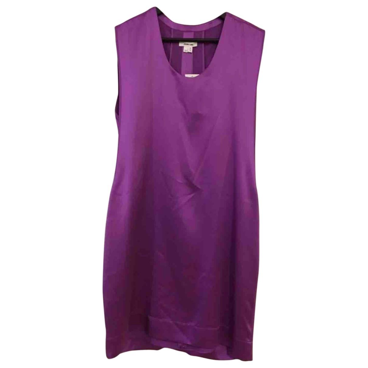 Helmut Lang \N Purple Silk dress for Women M International