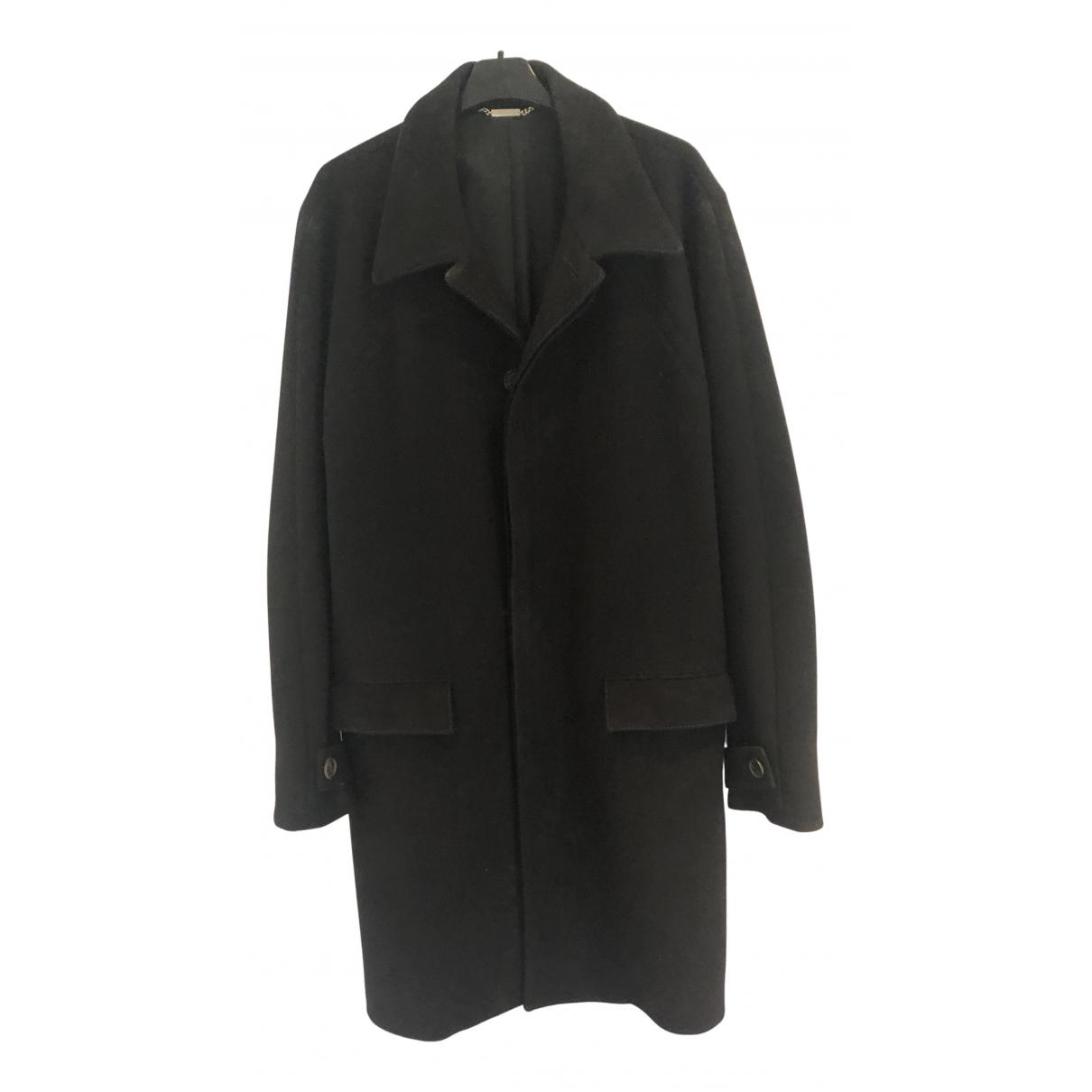 Dior Homme \N Maentel in  Schwarz Wolle