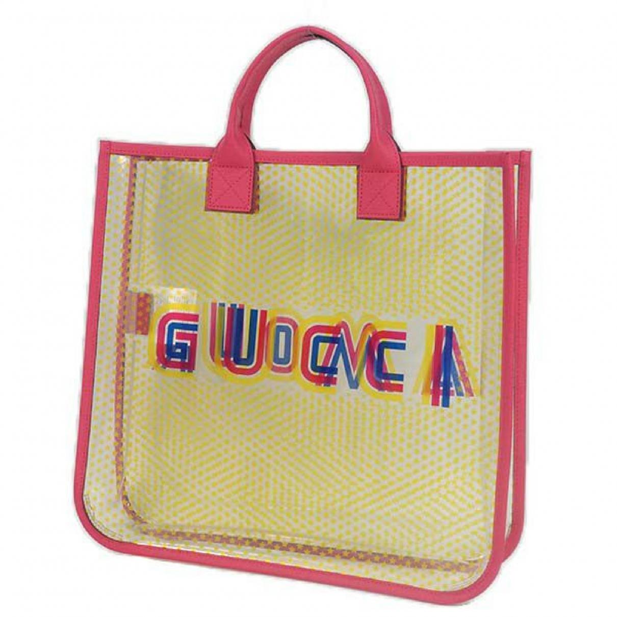Gucci N Yellow Leather handbag for Women N