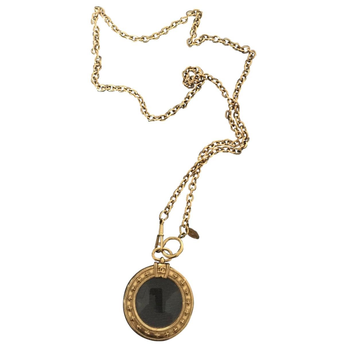 Chanel Ultra Gold Metal pendant for Women \N