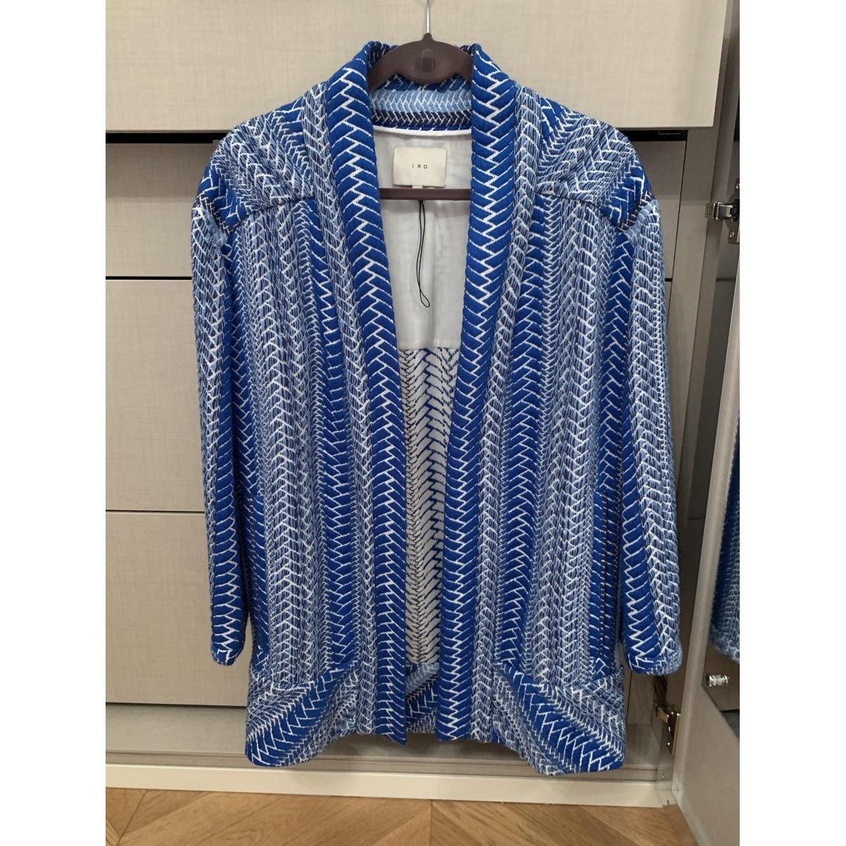 Iro \N Blue coat for Women 36 FR