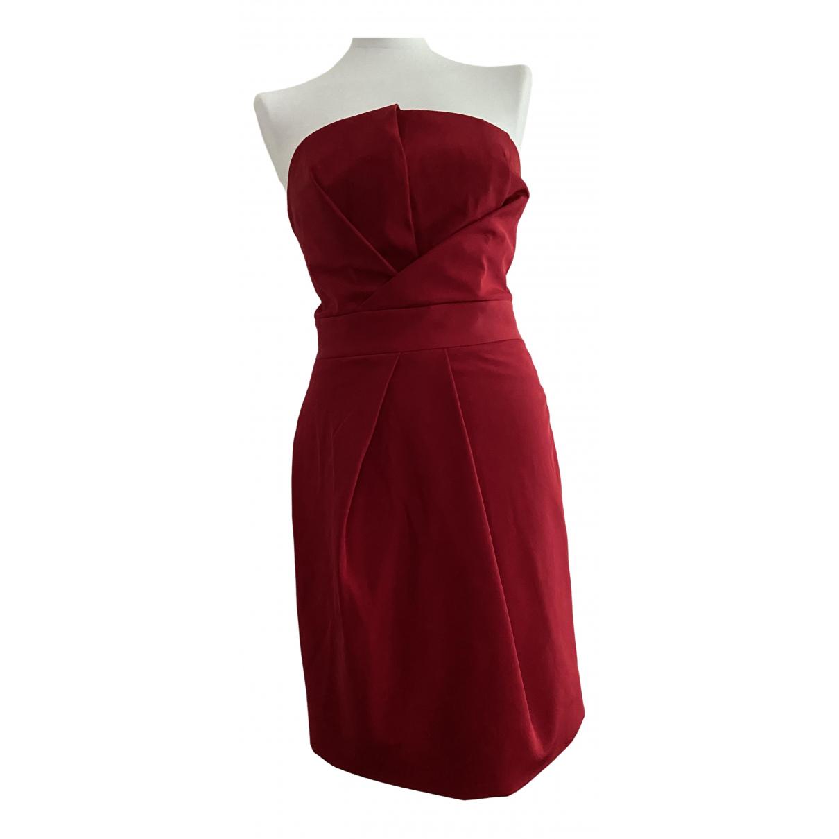 Dsquared2 \N Kleid in  Rot Seide