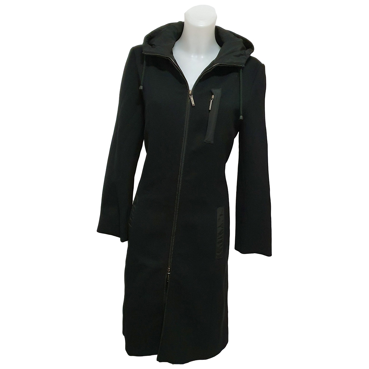 Moschino Cheap And Chic \N Maentel in  Schwarz Synthetik
