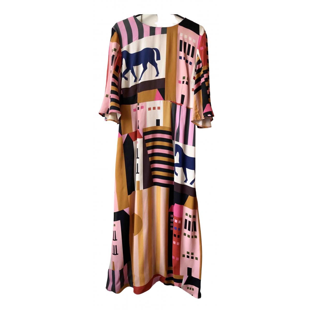 Stine Goya \N Kleid in  Bunt Viskose