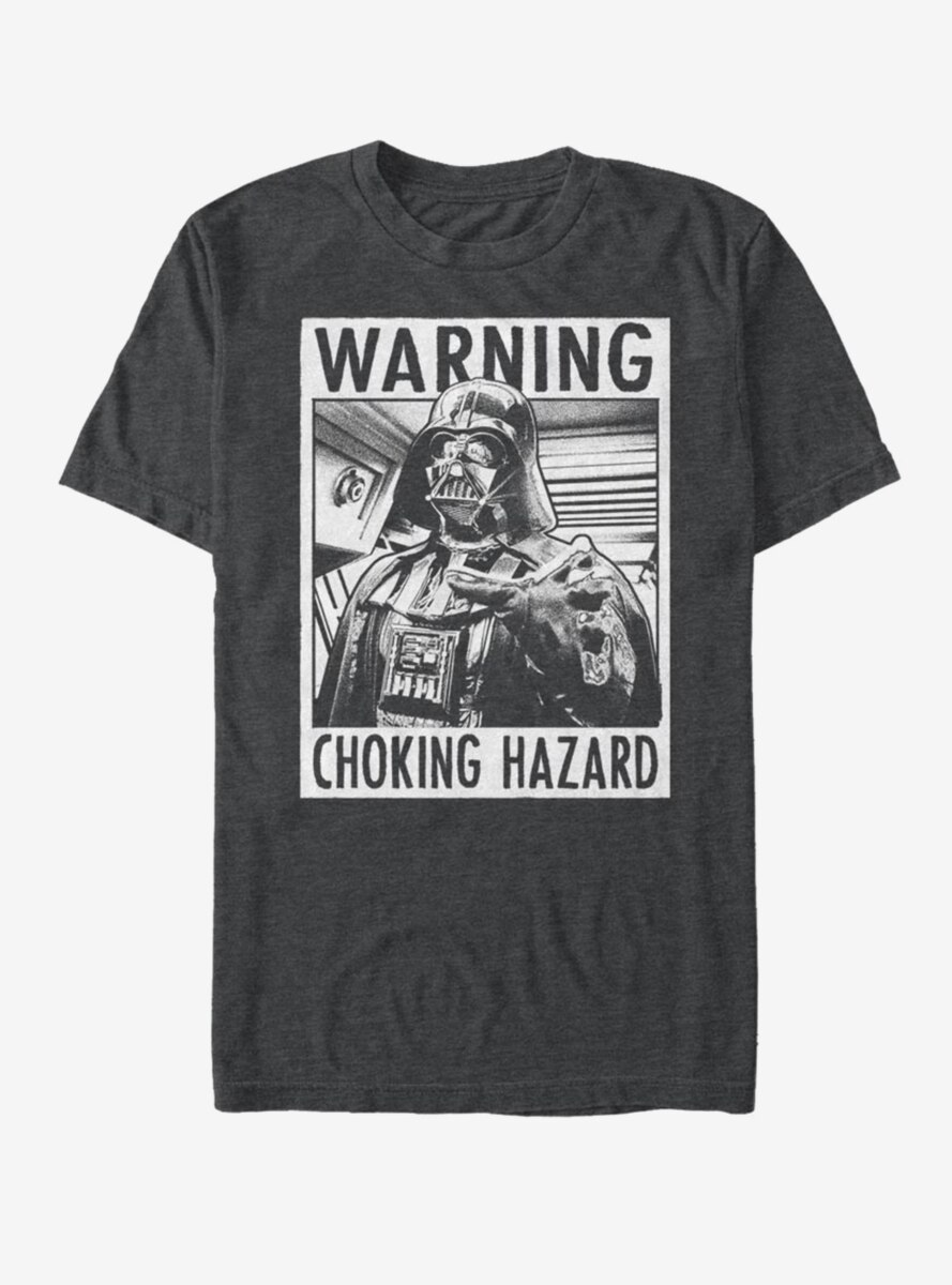 Star Wars Choke Warning T-Shirt