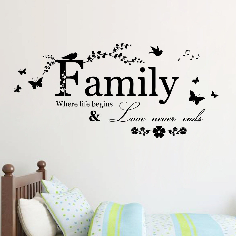 Miico Decorative Sticker Wall Stickers Decor DIY Stickers Bedroom Decoration For Living Room