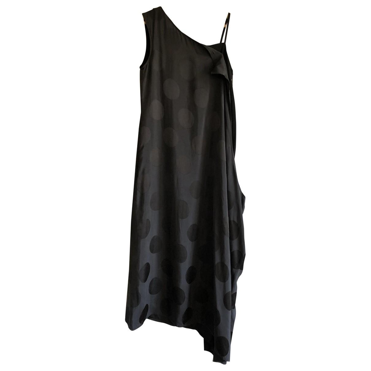 Yohji Yamamoto \N Black Silk dress for Women 1 0-5