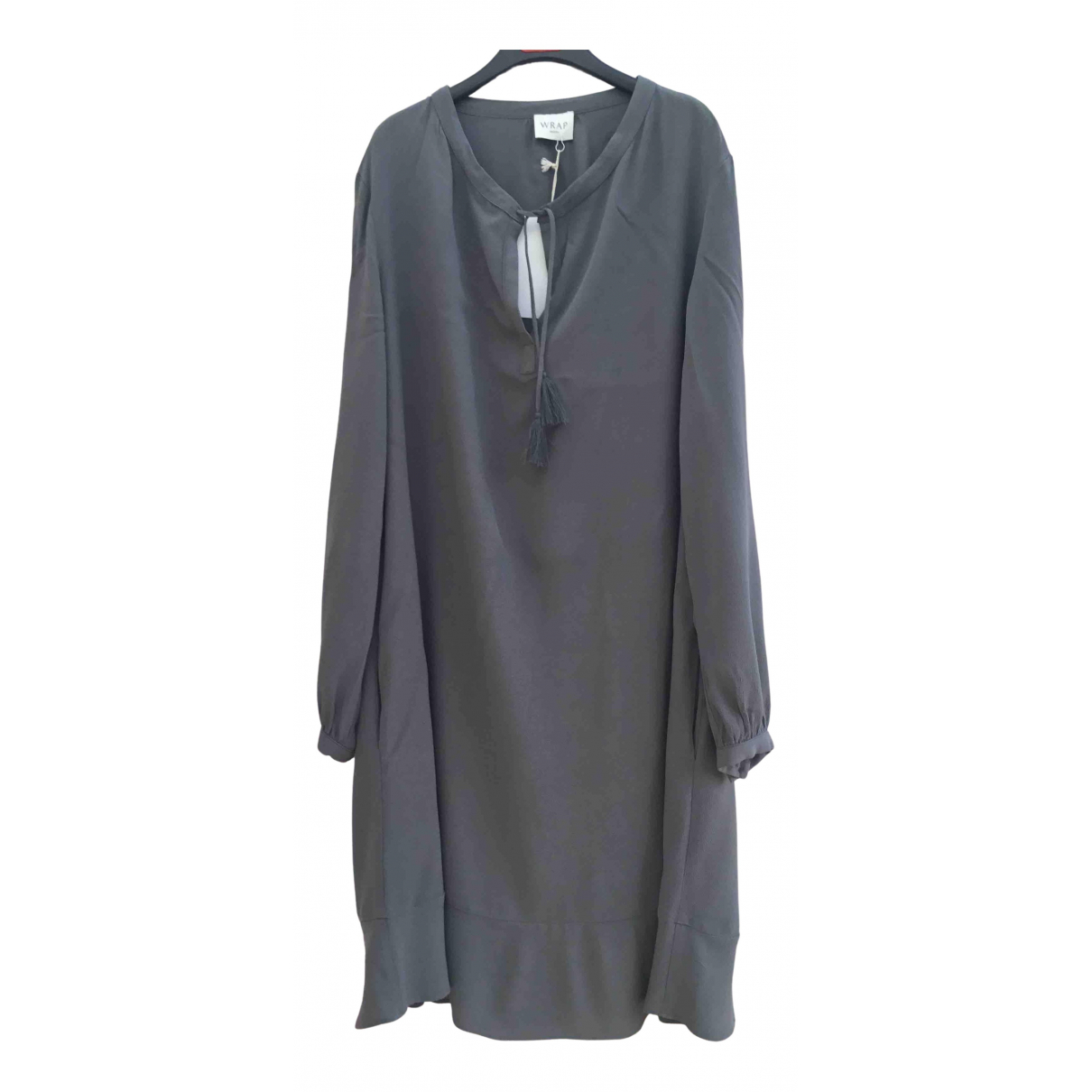 Non Signé / Unsigned N Grey dress for Women 16 UK