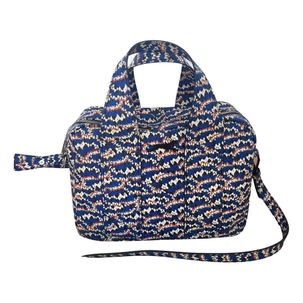 Bimba Y Lola \N Handtasche in  Blau Polyester