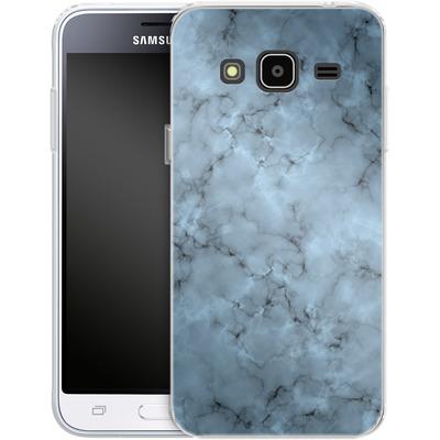 Samsung Galaxy J3 (2016) Silikon Handyhuelle - Blue Marble von caseable Designs