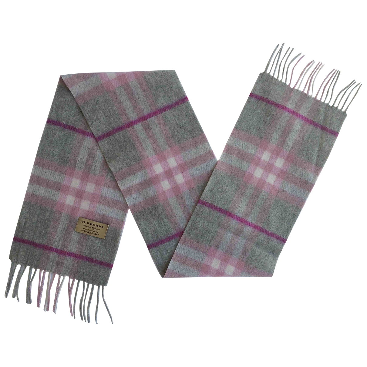 Burberry \N Pink Cashmere scarf for Kids \N