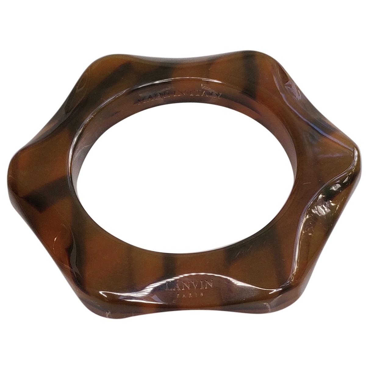 Lanvin - Bracelet   pour femme - marron