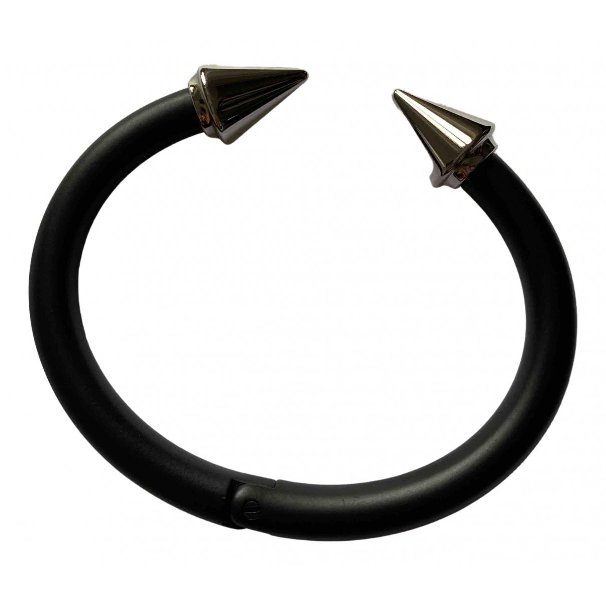 Vita Fede - Bracelet   pour femme en acier - noir