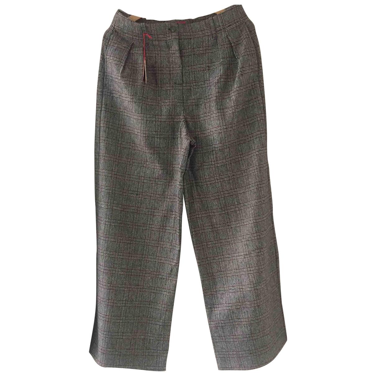 Pantalon largo de Lana Altea