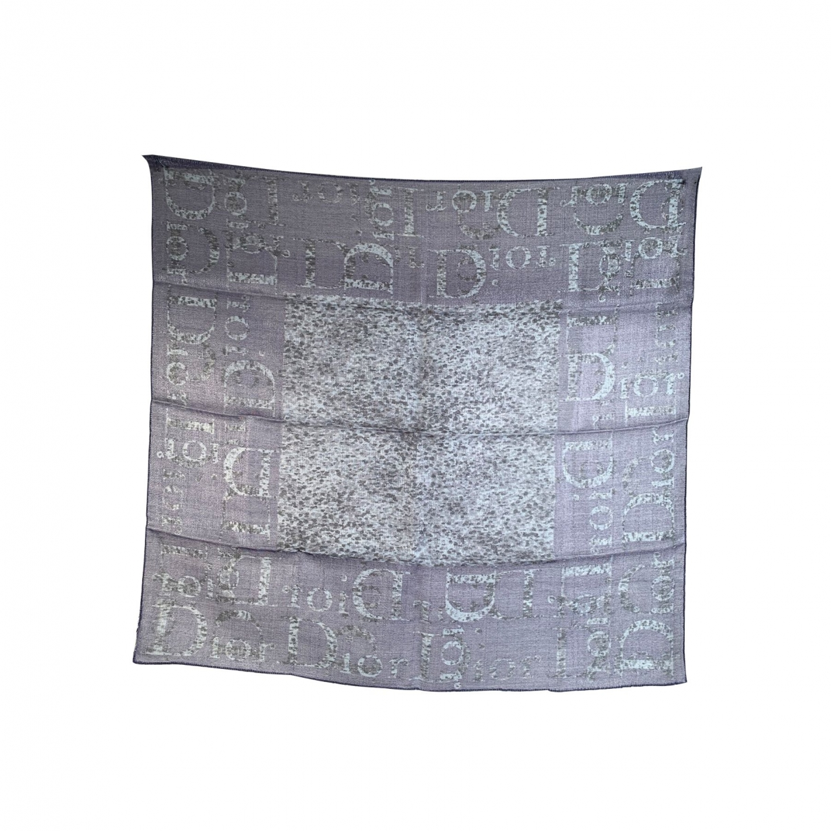 Dior \N Schal in  Blau Wolle