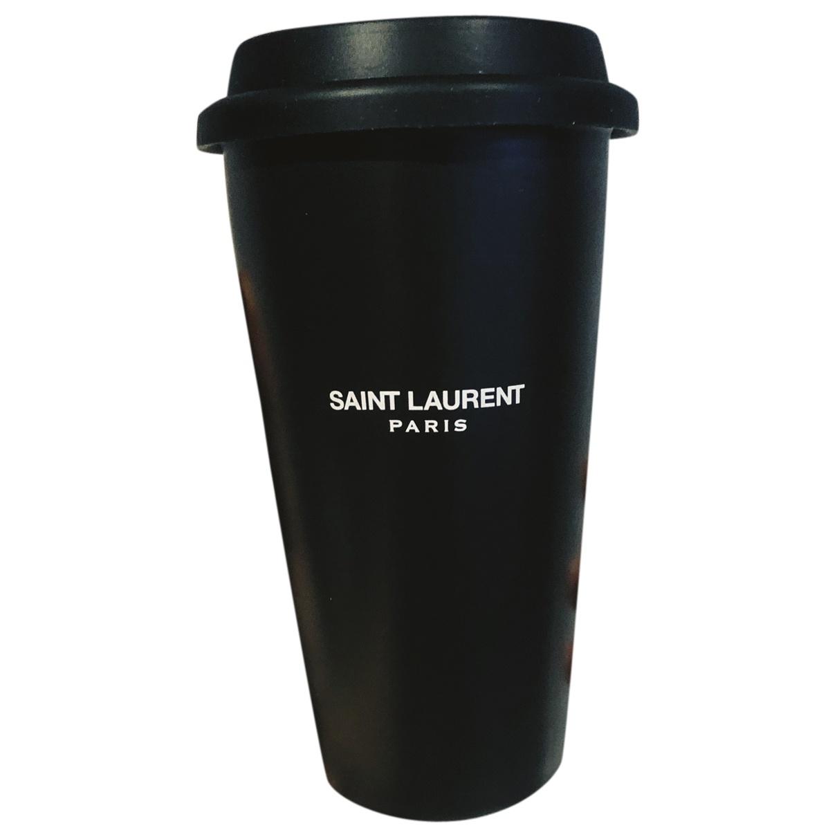 Saint Laurent - Arts de la table   pour lifestyle en ceramique - noir