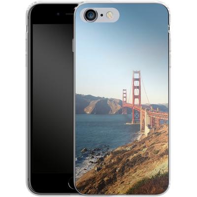 Apple iPhone 6s Plus Silikon Handyhuelle - Golden Gate Galore von Omid Scheybani