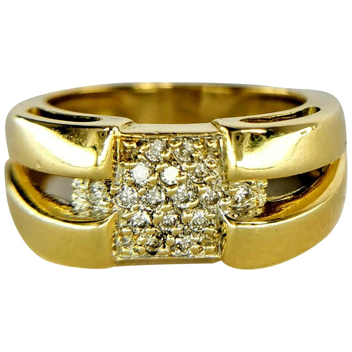 - Bague   pour femme en or jaune - jaune