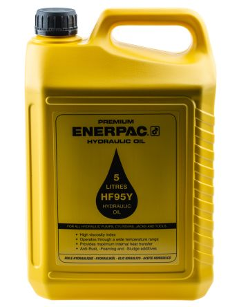 Enerpac Hydraulic Fluid HF95Y, 5 L, ISO Grade 32