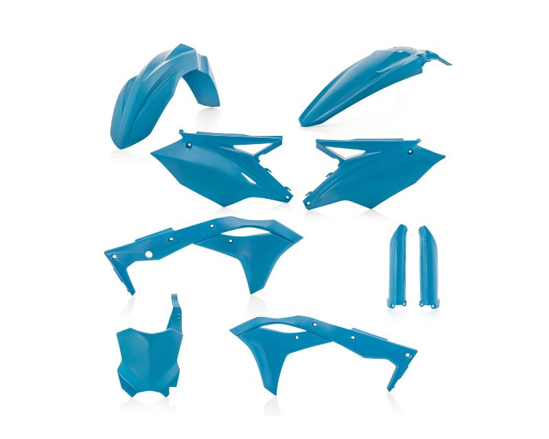 Acerbis 2685820085 Full Plastic Kit Light Blue Kawasaki KX250F 2018