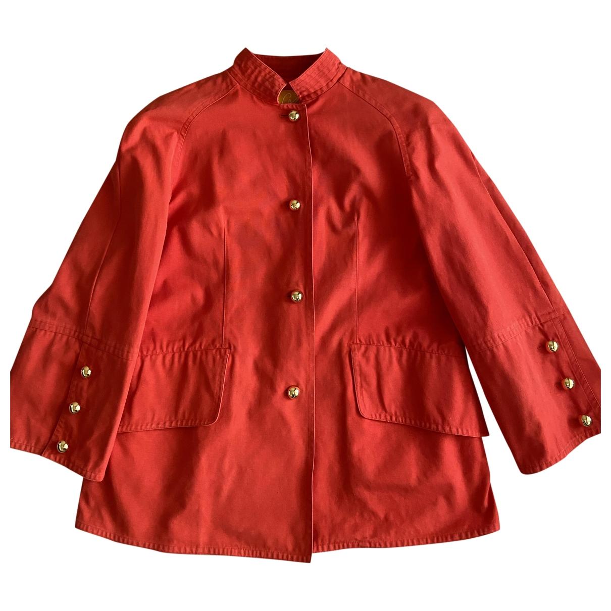 Christian Lacroix \N Orange Cotton jacket for Women 42 IT
