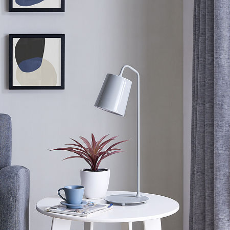 Southern Enterprises Ponva Pendant Lamp Desk Lamp, One Size , Gray