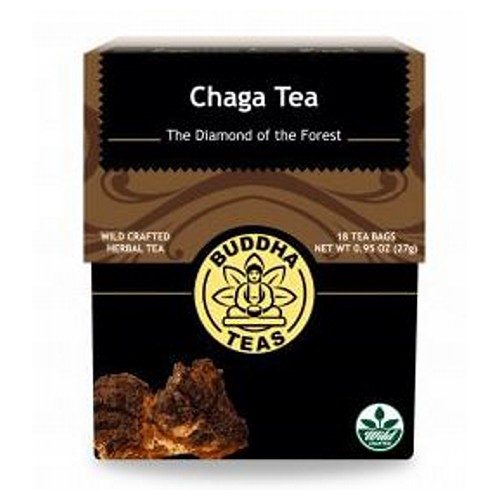 Chaga Tea 18 Bags by Buddha Teas