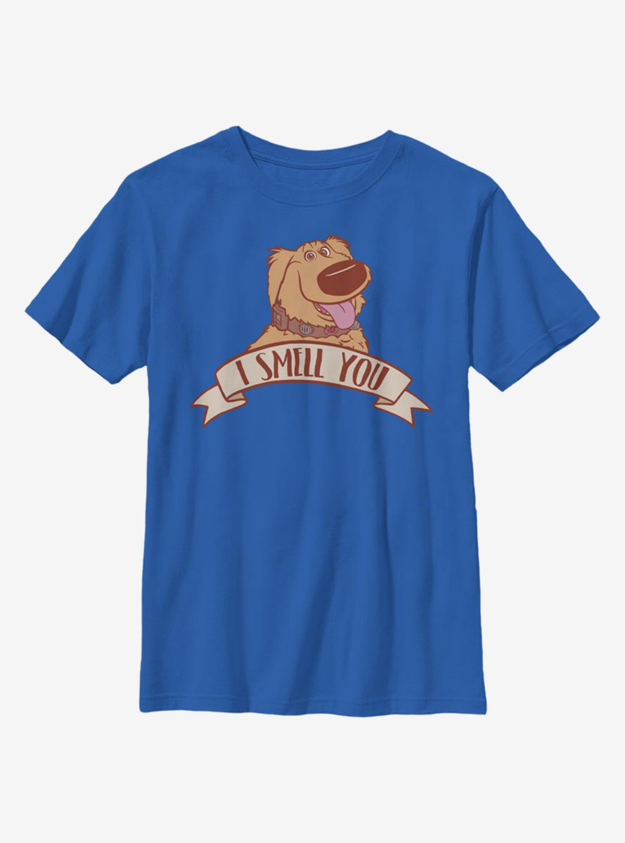 Disney Pixar Up Goodest Boy Badge Youth T-Shirt