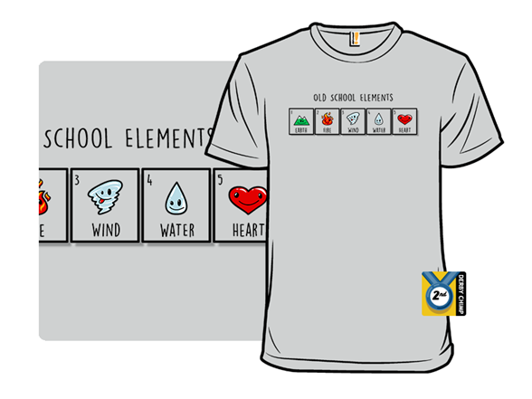 Old School Elements T Shirt